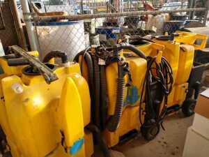 BUS SHOP, KAVAIC CLEANING SYSTEM WET DRY VAC, BEING SOLD FOR PARTS CONDITION UNKNOWN