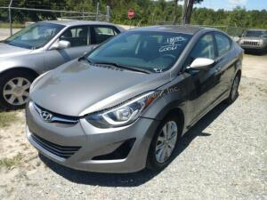 2014 Hyundai Elantra Sedan Limited I4, 1.8L