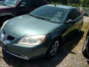 2009 Pontiac G6 Sedan Base V6, 3.5L