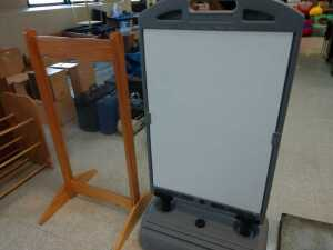 lunch room.SET OF 2 DISPLAY BOARDS