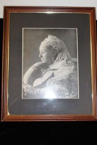 REPRODUCTION PHOTOGRAPH OF QUEEN VICTORIA
