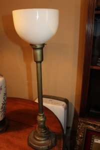 VINTAGE MITCHELL TORCHIERE LAMP