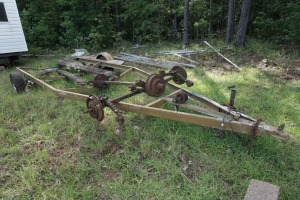 20 FOOT BOAT TRAILER & AXLES