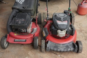 SNAPPER AND TROY-BILT MOWERS, BEING SOLD PARTS ONLY