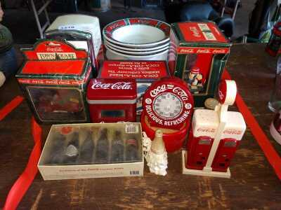COKE THEMED COLLECTIBLES