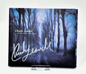 "CHUCK LEAVELL HAND AUTOGRAPHED CD ""FOREVER BLUE"" - DONATED BY CHUCK AND ROSE LANE LEAVELL"