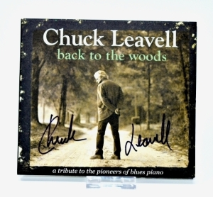 "CHUCK LEAVELL HAND AUTOGRAPHED CD ""BACK TO THE WOODS"" - DONATED BY CHUCK AND ROSE LANE LEAVELL"