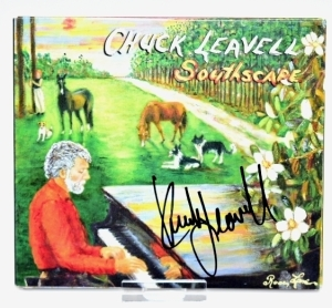 "CHUCK LEAVELL HAND AUTOGRAPHED CD ""SOUTHSCAPE"" - DONATED BY CHUCK AND ROSE LANE LEAVELL"