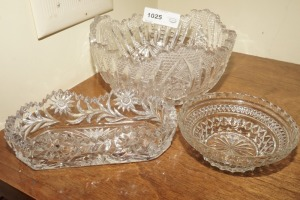 FORMAL CRYSTAL / FORMAL GLASS SERVING PIECES - LIV