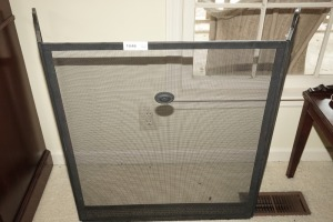 FIREPLACE SCREEN - DIN