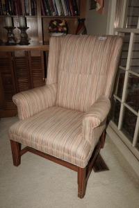 VINTAGE WINGBACK CHAIR - DEN