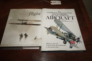 PAIR OF FLIGHT RELATED COFFEE TABLE BOOKS - DEN
