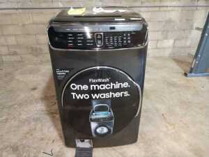 SAMSUNG 6.0 CU FT FRONT LOAD WASHER