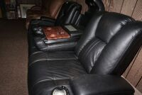 MODERN POWER RECLINING SOFA WITH ADJUSTABLE HEADRESTS, USB PORT, POWER OUTLETS, LIGHTED HEADREST, AND LIGHTED CUP HOLDERS - 16