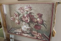 BEAUTIFUL WALL TAPESTRY WITH LEAF - 4