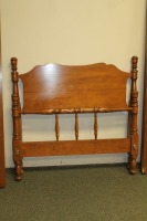ETHAN ALLEN BAUMRITTER TWIN BED WITH RAILS - 2