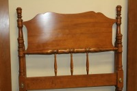 ETHAN ALLEN BAUMRITTER TWIN BED WITH RAILS - 4