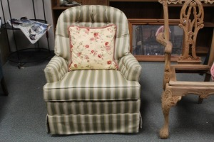 NICE CLUB CHAIR BY SAM MOORE FURNITURE