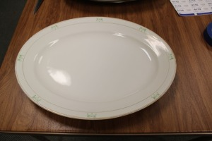 VINTAGE SERVING PLATTER POPE-GOSSER CHINA