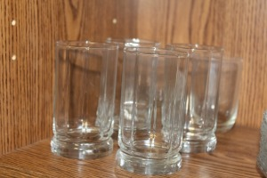 MIXED LOT OF JUICE GLASSES