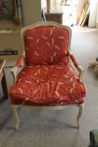 NICE FRENCH PROVINCIAL ARMCHAIR