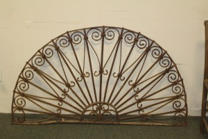 LARGE DECORATIVE IRON WALL ART