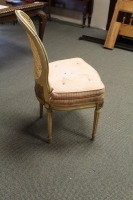 VINTAGE CANE BACK FRENCH PROVINCIAL DINING ROOM CHAIR - 4