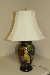 DECORATIVE TABLE LAMP WITH BIRD MOTIF