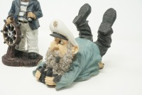 SEA CAPTAIN AND SEAGULL FIGURINES - 4