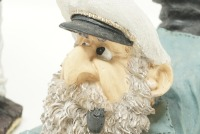 SEA CAPTAIN AND SEAGULL FIGURINES - 5