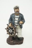SEA CAPTAIN AND SEAGULL FIGURINES - 8
