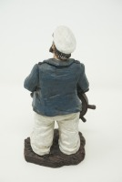 SEA CAPTAIN AND SEAGULL FIGURINES - 10