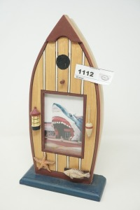 BOAT / OCEAN MOTIF FREE-STANDING PICTURE FRAME