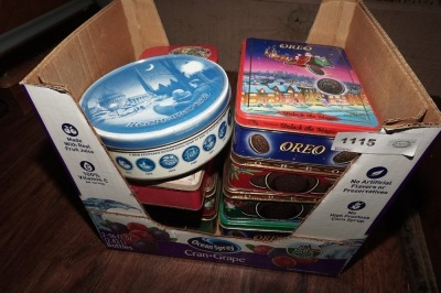 COLLECTIBLE OREO COOKIE TINS