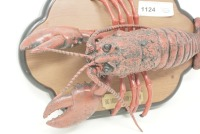 BIG MOUTH LARRY LOBSTER MOTION SENSING ARTICULATED MUSICAL WALL PLAQUE - 2