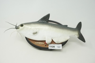 COOL CATFISH MOTION SENSING ARTICULATED MUSICAL WALL PLAQUE