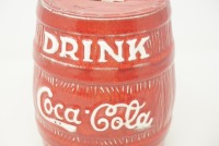 DRINK COCA-COLA BARREL BANK - 3