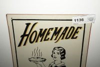 METAL SIGN, HOMEMADE PIES AND CAKES - 2