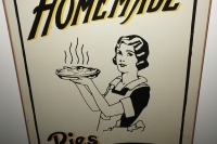 METAL SIGN, HOMEMADE PIES AND CAKES - 3