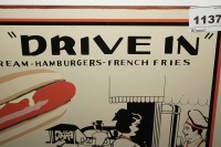 METAL SIGN, MIKE'S DRIVE-IN - 3