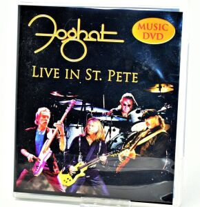 "FOGHAT HAND AUTOGRAPHED DVD ""LIVE IN ST. PETE"" - DONATED BY FOGHAT"