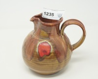 SIGNED POTTERY PITCHER, SEE PHOTOS FOR SIGNATURE