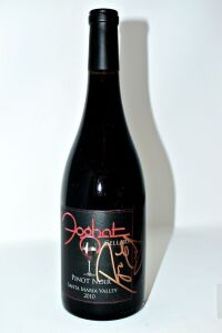 FOGHAT HAND AUTOGRAPHED BY ROGER EARL FOGHAT CELLARS PINOT NOIR SANTA MARIA VALLEY 2010 - DONATED BY FOGHAT