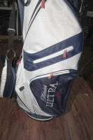 UNUSED LIGHTWEIGHT FULL-SIZE MICHELOB ULTRA LIGHT GOLF BAG WITH BUILT-IN STAND - 4