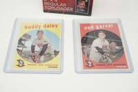 1959 TOPPS BASEBALL CARDS IN HARD PLASTIC COVERS - 3