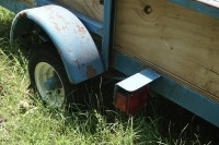 5 X 8 UTILITY TRAILER WITH WINCH AND 2 SPARE TIRES - 9