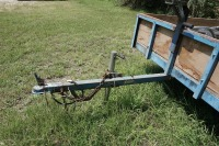 5 X 8 UTILITY TRAILER WITH WINCH AND 2 SPARE TIRES - 12