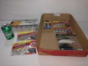 MISCELLANEOUS LURES, POWER BAIT, SWIM BAIT, CHARLIE'S WORMS AND MORE