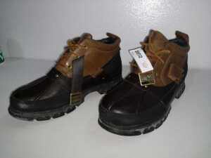 POLO BY RALPH LAUREN SIZE 11D HARDY ANKLE RAIN BOOTS