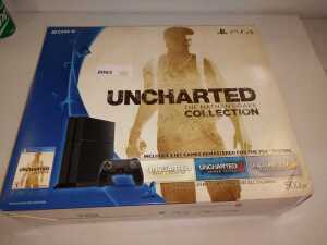 SONY PLAYSTATION 4, UNCHARTED, THE NATHAN DRAKE COLLECTION STILL INBOX